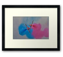 Synchro Pair Framed Print