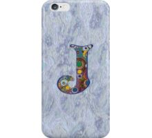 The Letter J iPhone Case/Skin