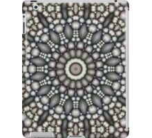 Black And Gray Abstract iPad Case/Skin