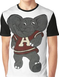 Alabama Roll Tide Elephant Graphic T-Shirt