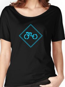 Grid Cyclists Only (B) Women's Relaxed Fit T-Shirt