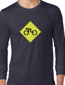 Grid Cyclists Only Long Sleeve T-Shirt
