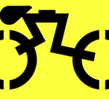 Grid Cyclists Only Sticker