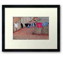 Espana Rustico. Framed Print