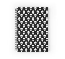 Dark Skulls Spiral Notebook