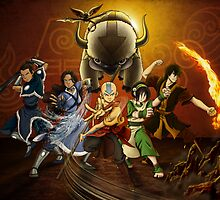 THE ORIGINAL TEAM AVATAR! by Candybug