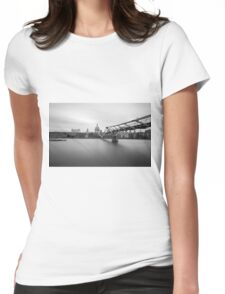 St Paul's Long Exposure Womens Fitted T-Shirt