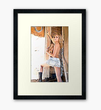 at best Framed Print