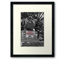 Occupy Providence Framed Print