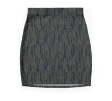 Matrix pattern Mini Skirt