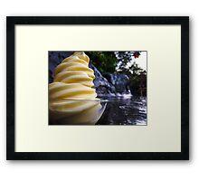 Whip It, Hawaiian Style Framed Print