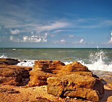 Washington Rocks #3. Flagler County. by chris kusik