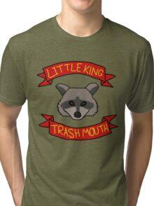 Little King Trash Mouth Tri-blend T-Shirt