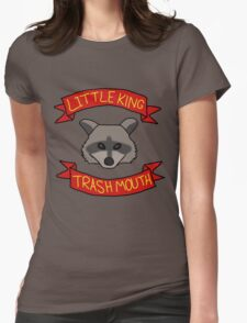 Little King Trash Mouth Womens Fitted T-Shirt
