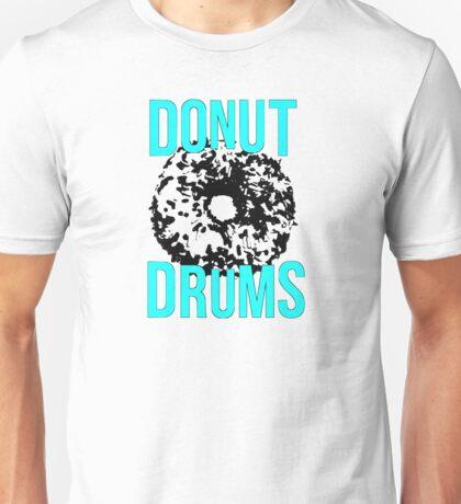 DonutDrums Donut Aqua Teal Unisex T-Shirt