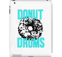 DonutDrums Donut Aqua Teal iPad Case/Skin