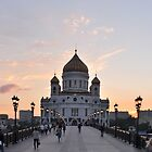 Sundown on Moscow by Bearfoote