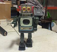Japanese Robot #1 by Dannyella
