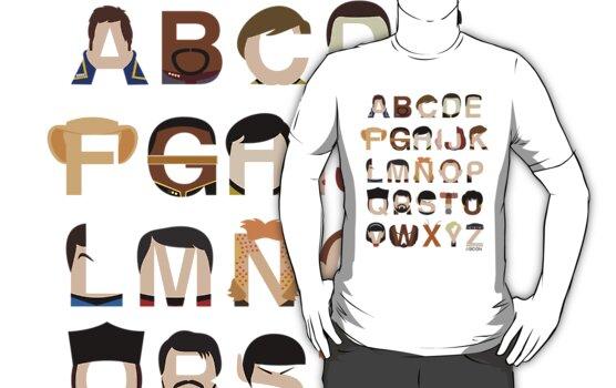 Star Trek Alphabet by Mike Boon