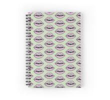 Spring Lips Spiral Notebook