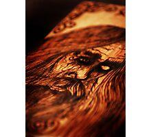 ODIN Wood Burning Photographic Print