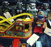 Japanese Robot #2 by Dannyella