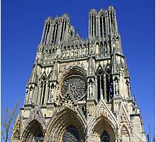 Cathedral Notre Dame de Reims Photographic Print