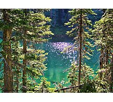 Hall Lake Photographic Print