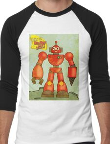 Ro-Boy from space Men's Baseball ¾ T-Shirt