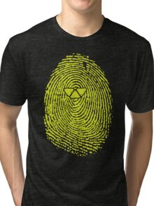ARTIFICIAL FINGERPRINT Tri-blend T-Shirt