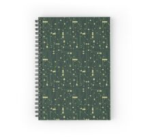 Circuit Board Spiral Notebook