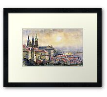 Dawn of Prague  Framed Print