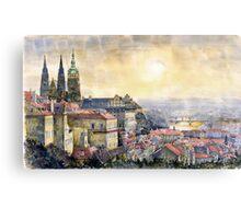 Dawn of Prague  Canvas Print