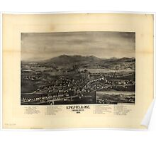 Panoramic Maps Kingfield Me Franklin Co 1895 Poster
