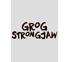 Critical Role - Grog Strongjaw (Character Names) Photographic Print