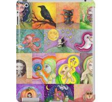 Drawlloween pattern iPad Case/Skin
