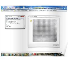 Javascript program: lol -(28/06/12)- screen printout Poster