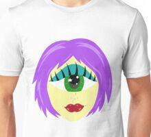 Cyclops Monster Girl Head Unisex T-Shirt