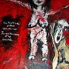 "The""- Truth in this picture- Acryl auf Tuch ,160 x 116 cm by Despinaart"