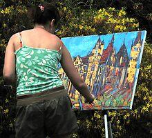 Artist at Work by Forfarlass