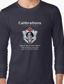 ME3 - Calibrations RED Long Sleeve T-Shirt