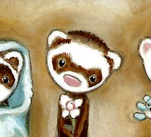 Ferret People by Shelly  Mundel
