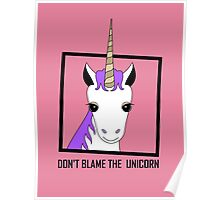 DON'T BLAME THE UNICORN Poster