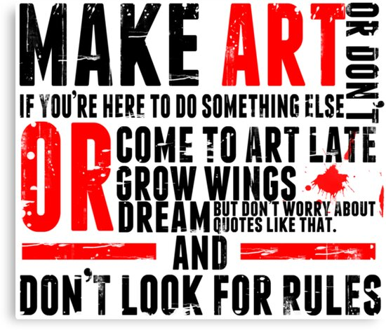 Make Art by Chris Carruthers