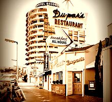Du-par's Neighboring Capitol Records... This location is no longer.... by Dupars