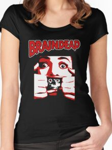 Braindead Women's Fitted Scoop T-Shirt