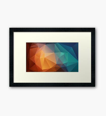 Abstract wallpaper Framed Print