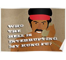 Black Dynamite's Kung-Fu Poster
