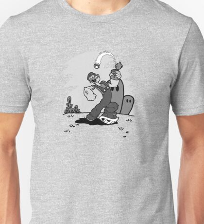 Mushrooms meet Spinach Unisex T-Shirt