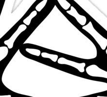 KAT Skeleton Hands Sticker